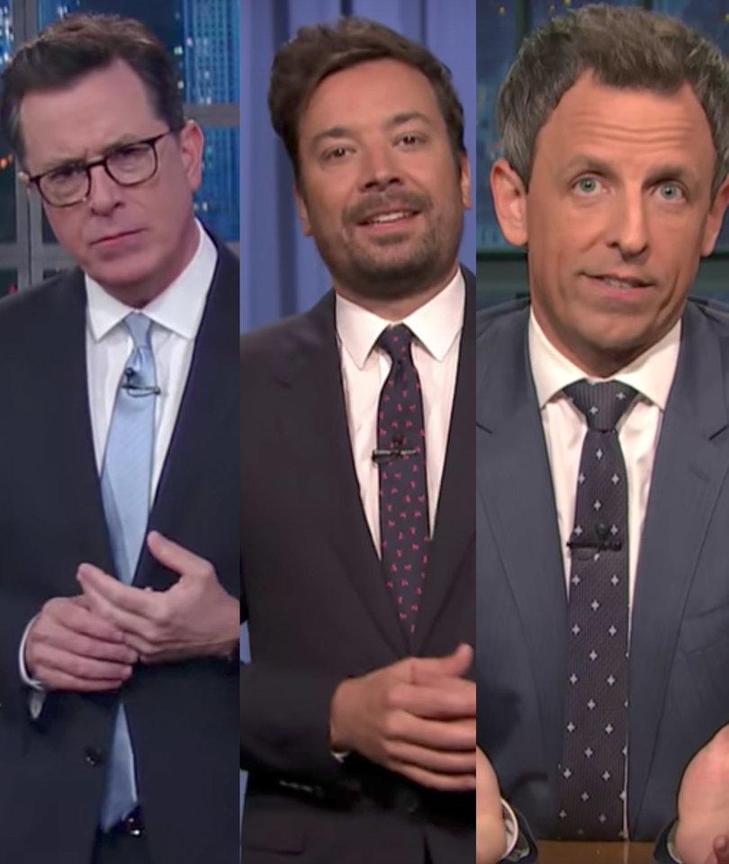 Comey Testimony Leads Late-Night Stars to Dump on Trump's Lies