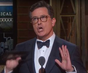 How Stephen Colbert Roasted Trump at the Tony Awards