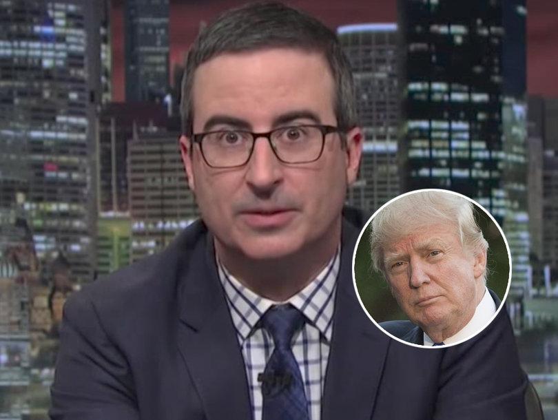 John Oliver Dismantles Trump's Reaction to Comey Testimony