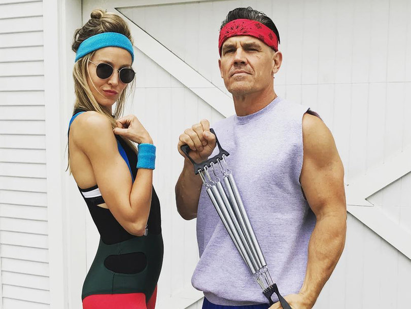 Brolin Dresses as 'Goonies' Character for '80s Bash And Still Looks Hot As Ever