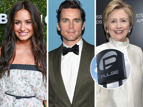 Hollywood Stars Pay Tribute to Orlando Pulse Shooting Victims One Year Later