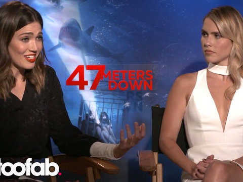Mandy Moore Tells TooFab Why '47 Meters Below' Is A Film Unlike Anything She's Ever Done