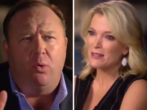Alex Jones Leaks Pre-Interview With 'Fraud' Megyn Kelly