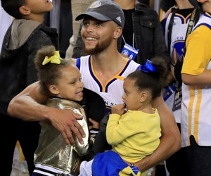 Riley and Ryan Curry Steal the Show at Championship Celebration