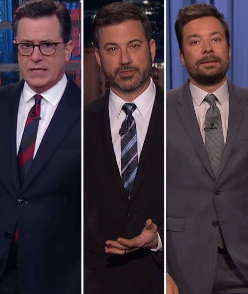 Every Late-Night Comedian Roasted Jeff Sessions Last Night
