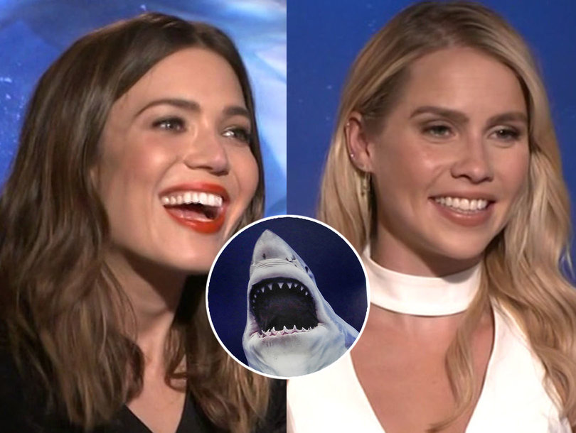 '47 Meters Down' Star Mandy Moore's Tips to Survive a Shark Attack
