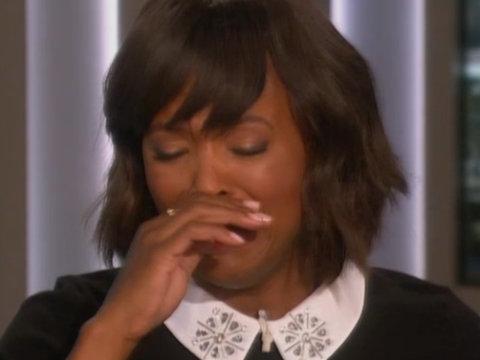 Aisha Tyler Tearfully Announces She's Leaving 'The Talk'