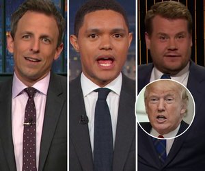 How Late-Night Comedians Celebrated Trump's 71st Birthday