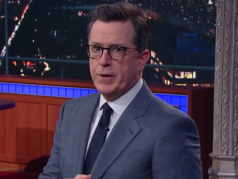 Stephen Colbert Praises Trump in Wake of Alexandria Shooting