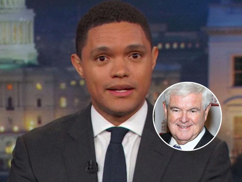 Trevor Noah Slams Newt Gingrich for Worst Response to GOP Shooting