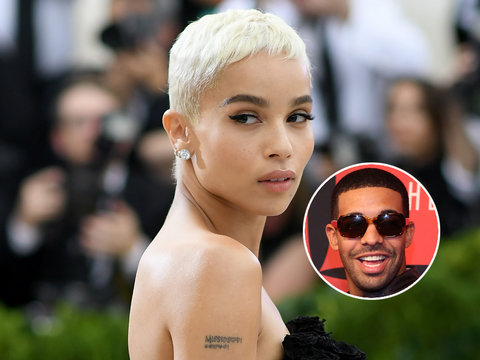 Zoe Kravitz Finally Puts Reports She Dated Drake to Rest