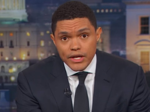 Trevor Noah Blasts GOP for Shady Health Care Bill Meetings