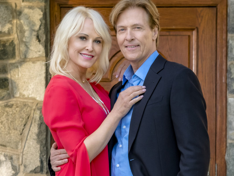 How Josie Bissett and Jack Wagner Went from 'Melrose' Strangers to 'Almost Married'