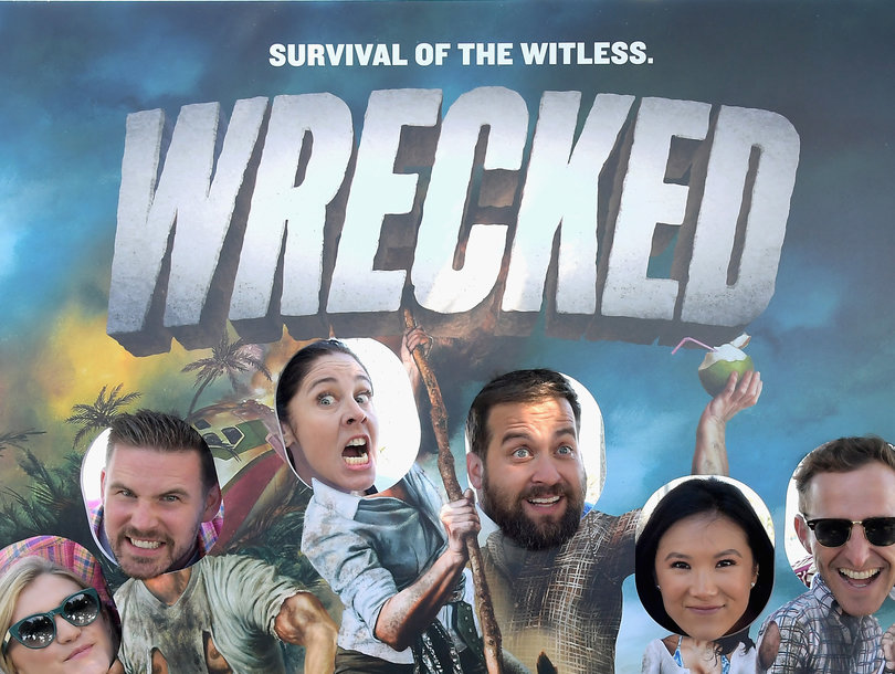 TooFab Spent 4 Hours On TBS' 'Wrecked' Island and This Is What Happened (Video)
