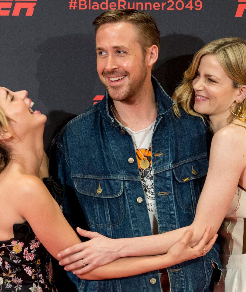 Ryan Gosling Attends 'Blade Runner' Photo Call in Barcelona