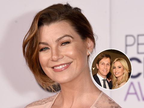Ellen Pompeo Can't Believe Ivanka Trump Has Sex With Jared Kushner