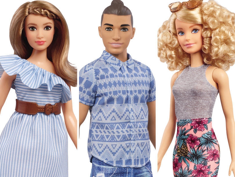 Barbie Fashionistas -- The New Crew