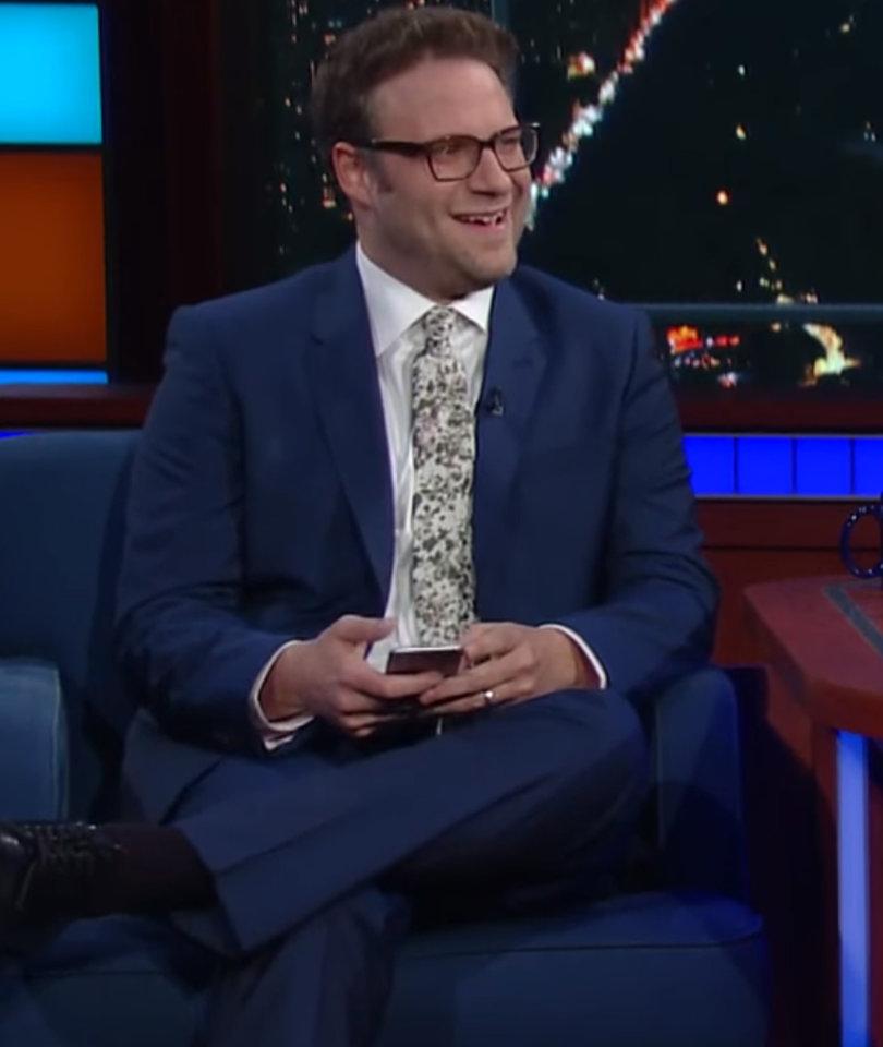 Colbert, Seth Rogen 'Double Team' Donald Trump Jr. on Twitter