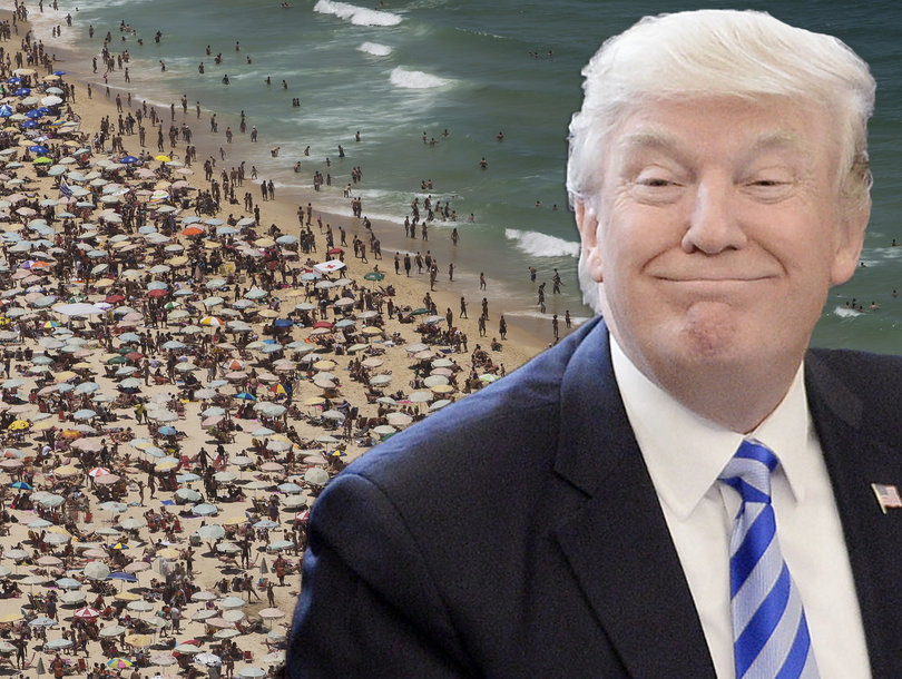 How Donald Trump Is About to Wreck Your Summer Beach Days