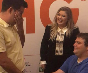 Kelly Clarkson Fan Reveals How Singer Made His Proposal Dream Come True (Exclusive)