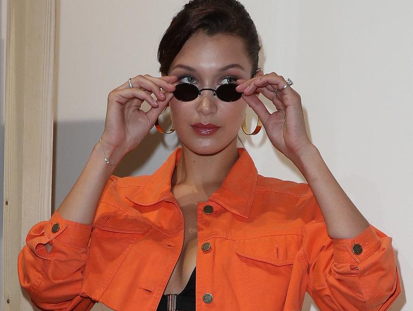 Bella Hadid Seen Out During Paris Fashion Week