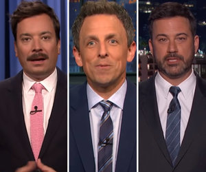 Jimmy Kimmel, Seth Meyers and Jimmy Fallon Pile On Trump's 'Poor Person'…