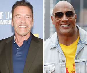 Watch The Rock's 'F-cking Awful' Arnold Schwarzenegger Impression