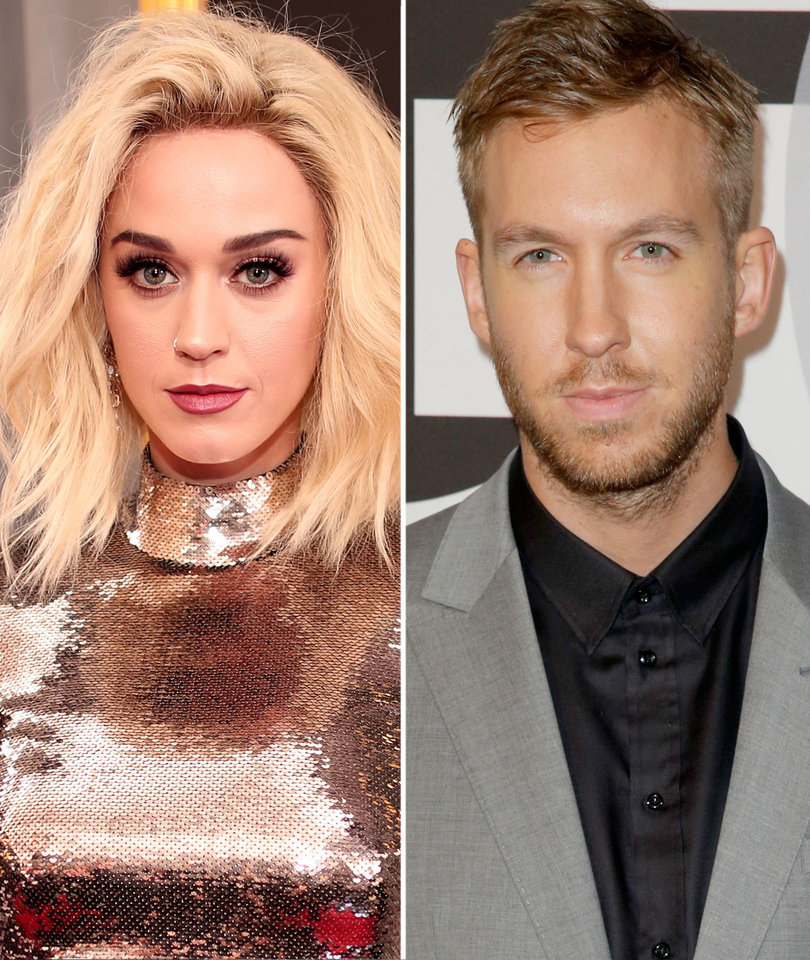 Katy Sports Yellow Wig In Calvin Harris' Trippy Music Video for 'Feels'