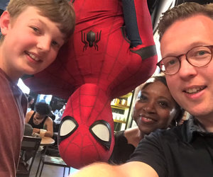 Spider-Man Surprises Starbucks Customers in Elaborate Prank