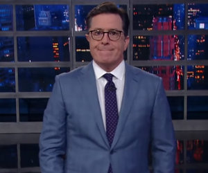 Stephen Colbert Gives Trump the Apology He Asked For