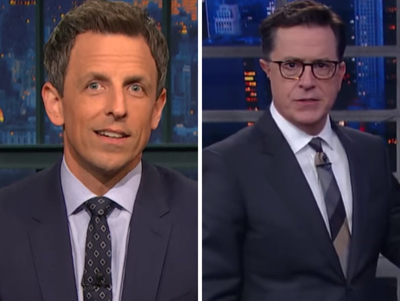 Seth Meyers, Stephen Colbert Dump on Republicans for Delaying Vote on 'Cartoonishly Evil' Health Care Bill (Video)