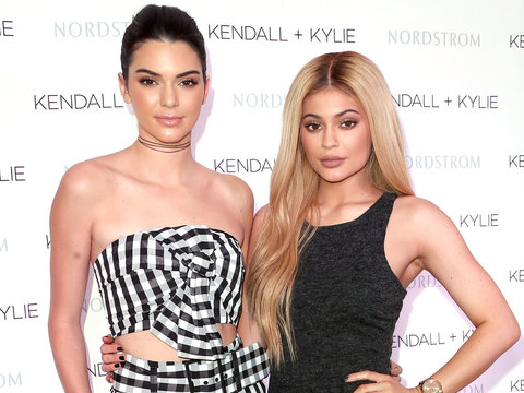 Kendall and Kylie Apologize for Plastering Their Faces Over Rock Icons