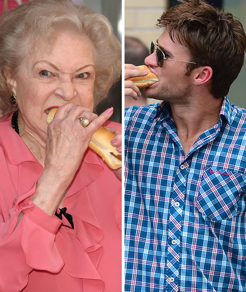 21 Stars Eating Hot Dogs in Honor of July 4th Weekend