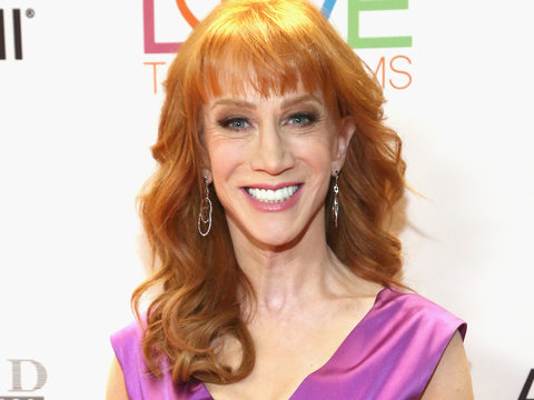 Kathy Griffin Says Donald Trump 'Likes to Punch Down' After Mika Brzezinski 'Bleeding…