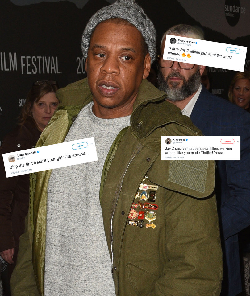 Hip-Hop Stars React to JAY-Z's '4:44' as It Lights Up Twitter