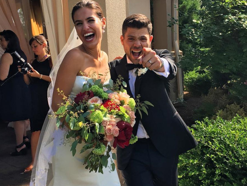 Turtle Ties the Knot! 'Entourage' Star Jerry Ferrara Marries Breanne Racano