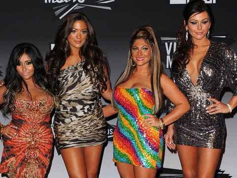 The Women of 'Jersey Shore' Reunited and They Don't Look Like This Anymore