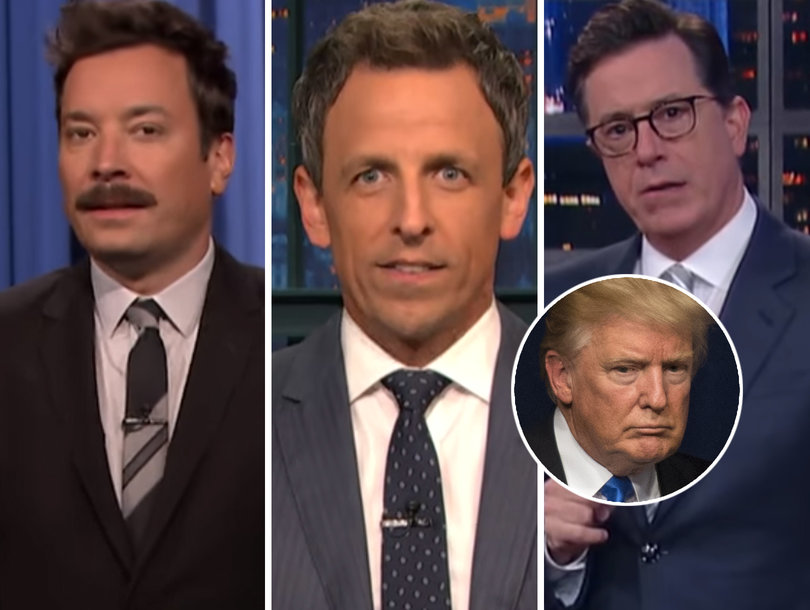 Shocked Late-Night Comedians Lay Into Trump for 'Vicious' Mika Brzezinski Tweets (Video)
