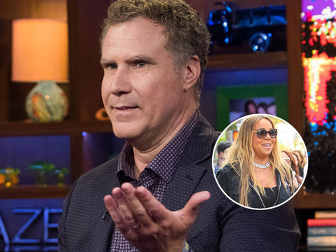 Will Ferrell Reveals Why Mariah's Film Cameo Caused a 'Sh-t Storm' on Set