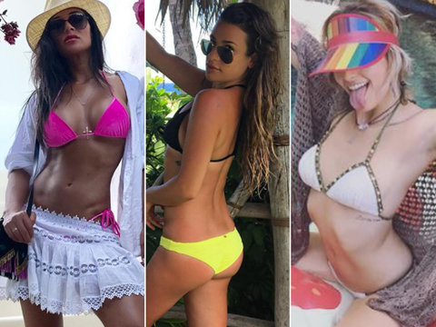 Get a Look at Paris Jackson's Bikini Bod and More Stars Beating the Heat This Weekend