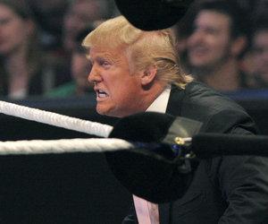 Twitter Pile Drives Trump Over CNN Body-Slamming Meme: 'Juvenile,' 'Insane'