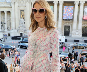 Celine Dion Goes Totally Nude at Paris Fashion Week