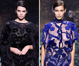 Kendall Jenner and Bella Hadid Lead the Pack at Paris Fashion Week