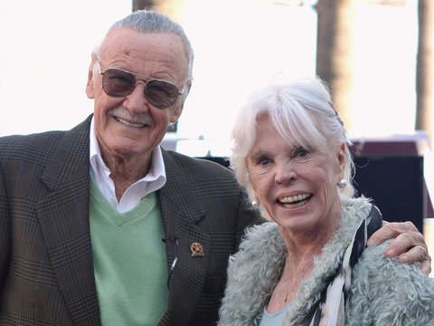 Good Luck Not Tearing Up at Stan Lee's Tribute to Dead Wife