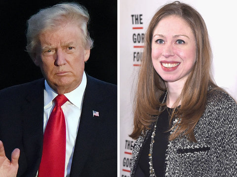 Chelsea Clinton Fires Back at Donald Trump's Latest Mean Tweet