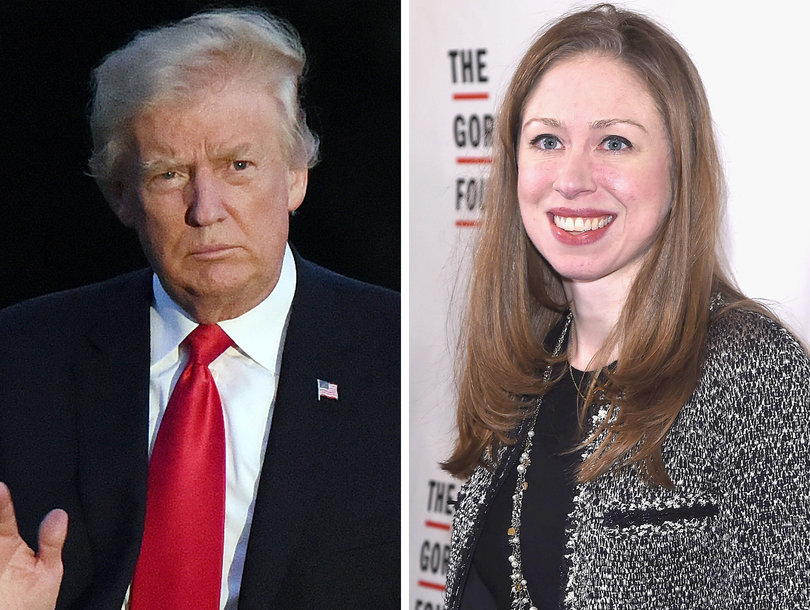 Chelsea Clinton Fires Back at Donald Trump's Mean Tweet: 'Were You Giving Our Country Away?'