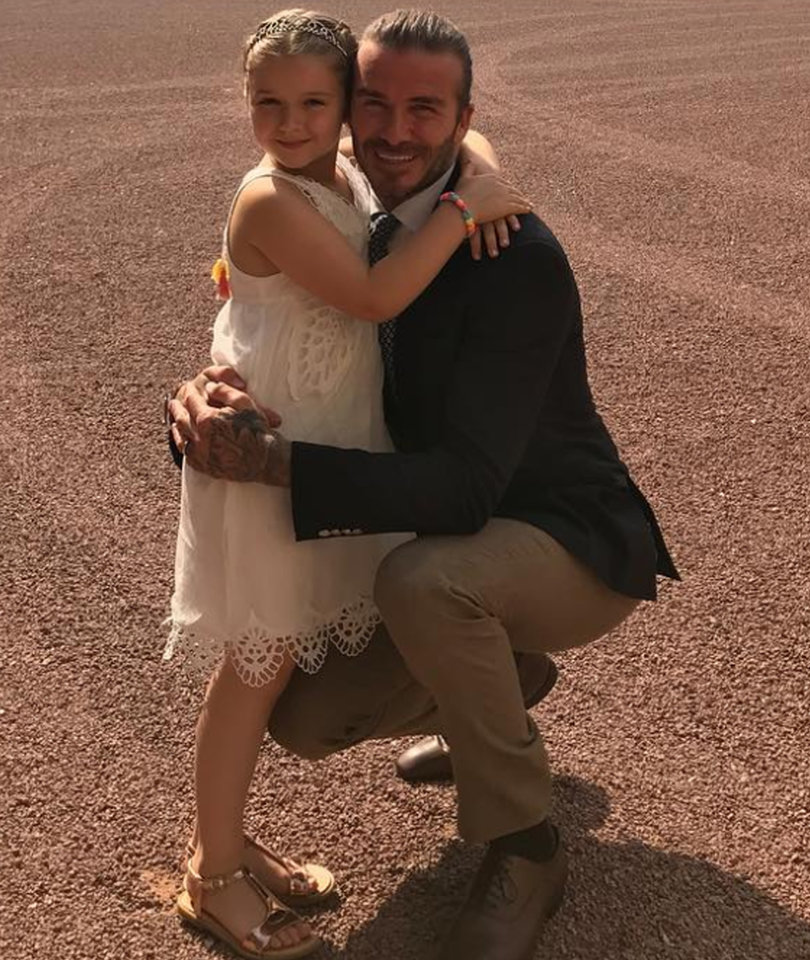 See How Harper Beckham Celebrated Her Sixth Birthday with Real Life Royalty