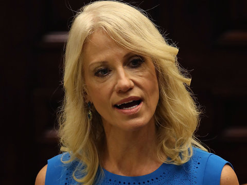 Twitter Torches Kellyanne Conway's Latest TV News Circus