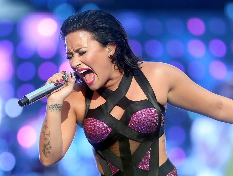 Demi Lovato Claps Back at Haters With New Song 'Sorry Not Sorry' (Audio)