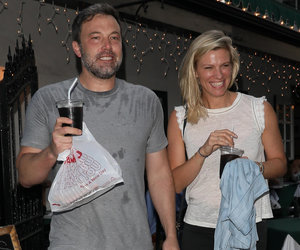 Ben Affleck and New Girlfriend Keep Cool During the Heat Wave